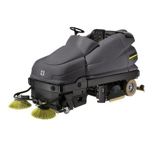 Karcher Medium Ride-on Scrubber Dryer & Sweeper (B100/250RI)